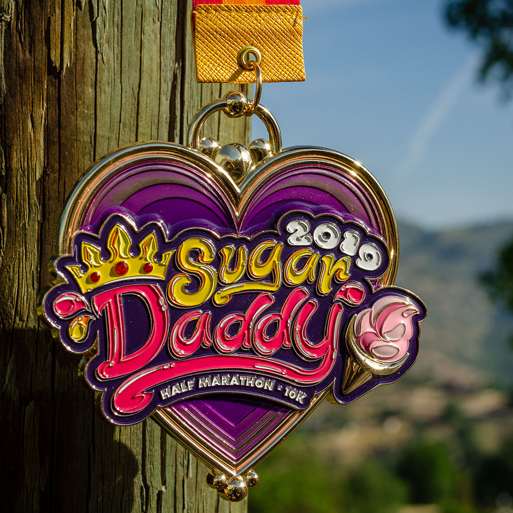 Sugar Daddy Race Purple Heart