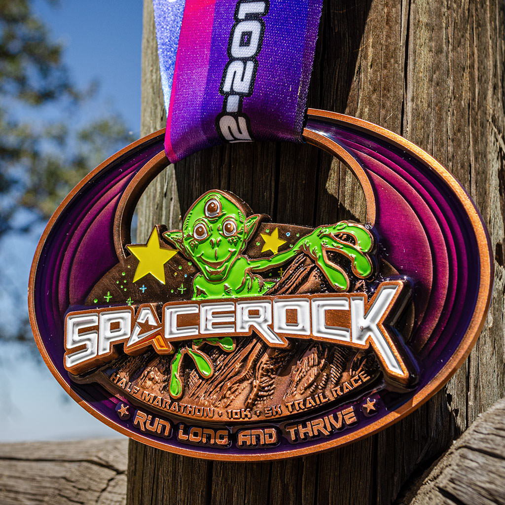 SPACEROCK Trail Race Alien