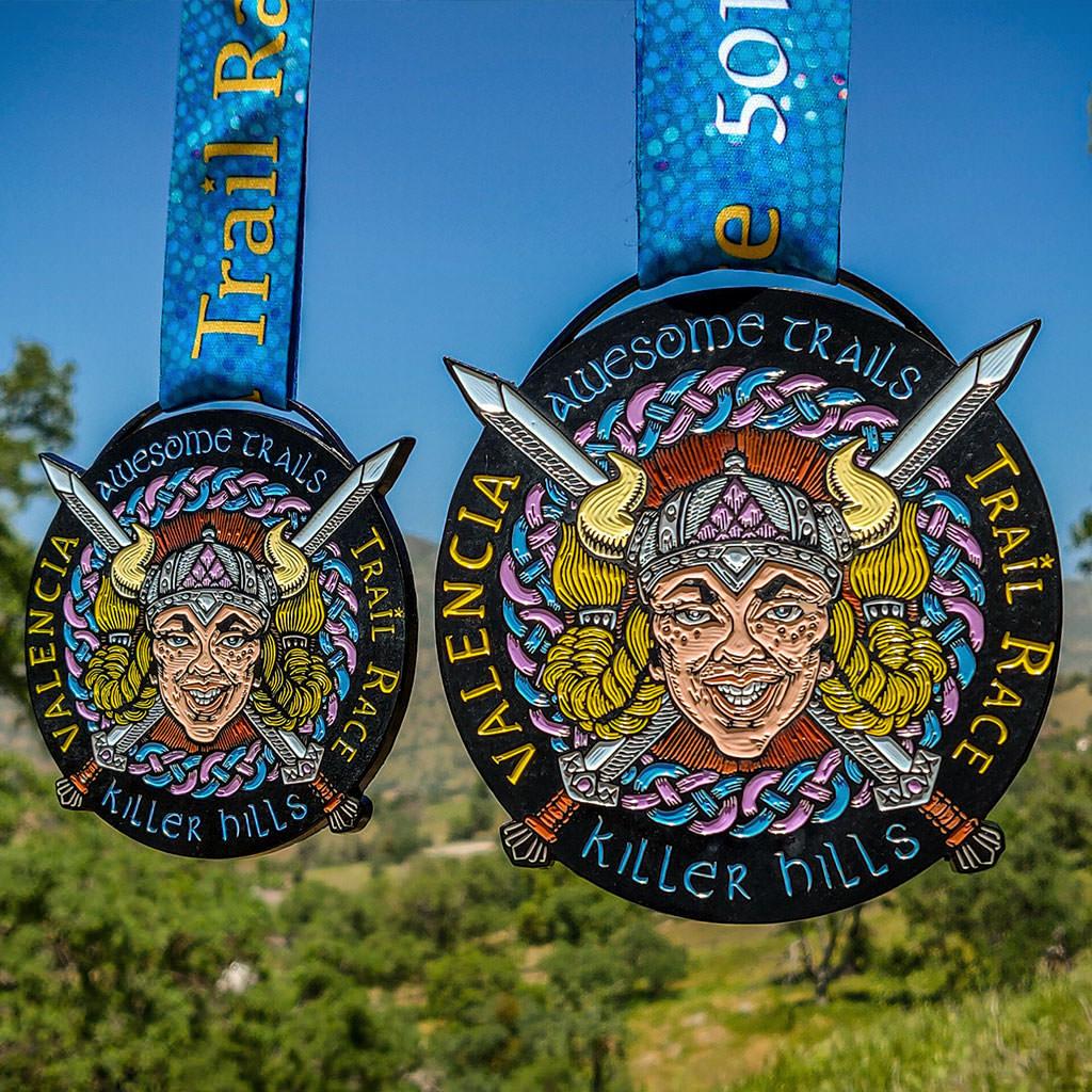VALENCIA Trail Race Female Warrior